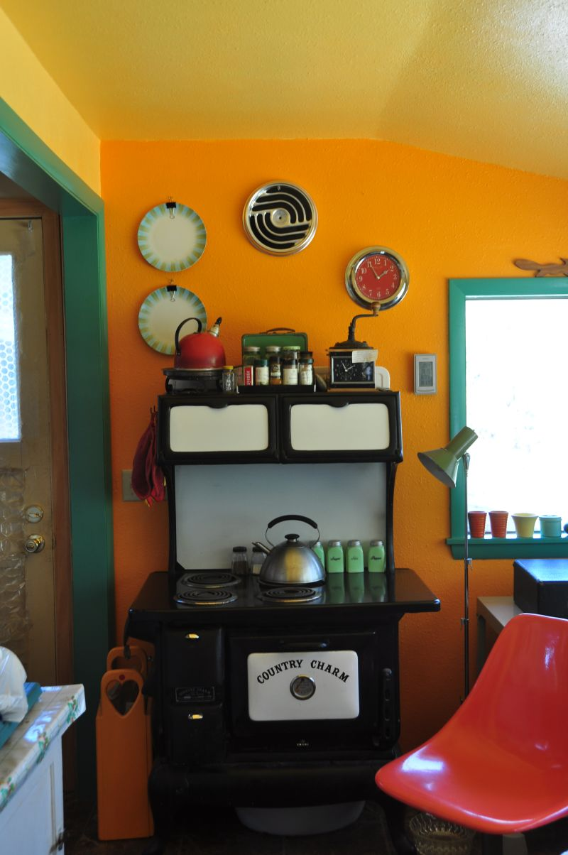 "Janet's ""Summery Citrus"" Room — Room for Color Contest"