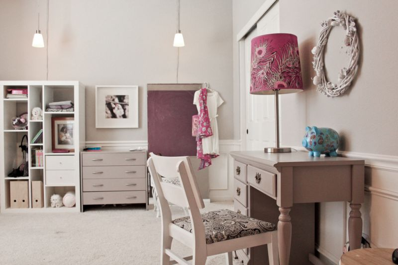 """Katie's """"Purple Toned Grays"""" Room — Room for Color Contest"""
