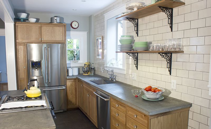 John & Sarah's Made by Hand Kitchen — Small Cool Kitchens 2013