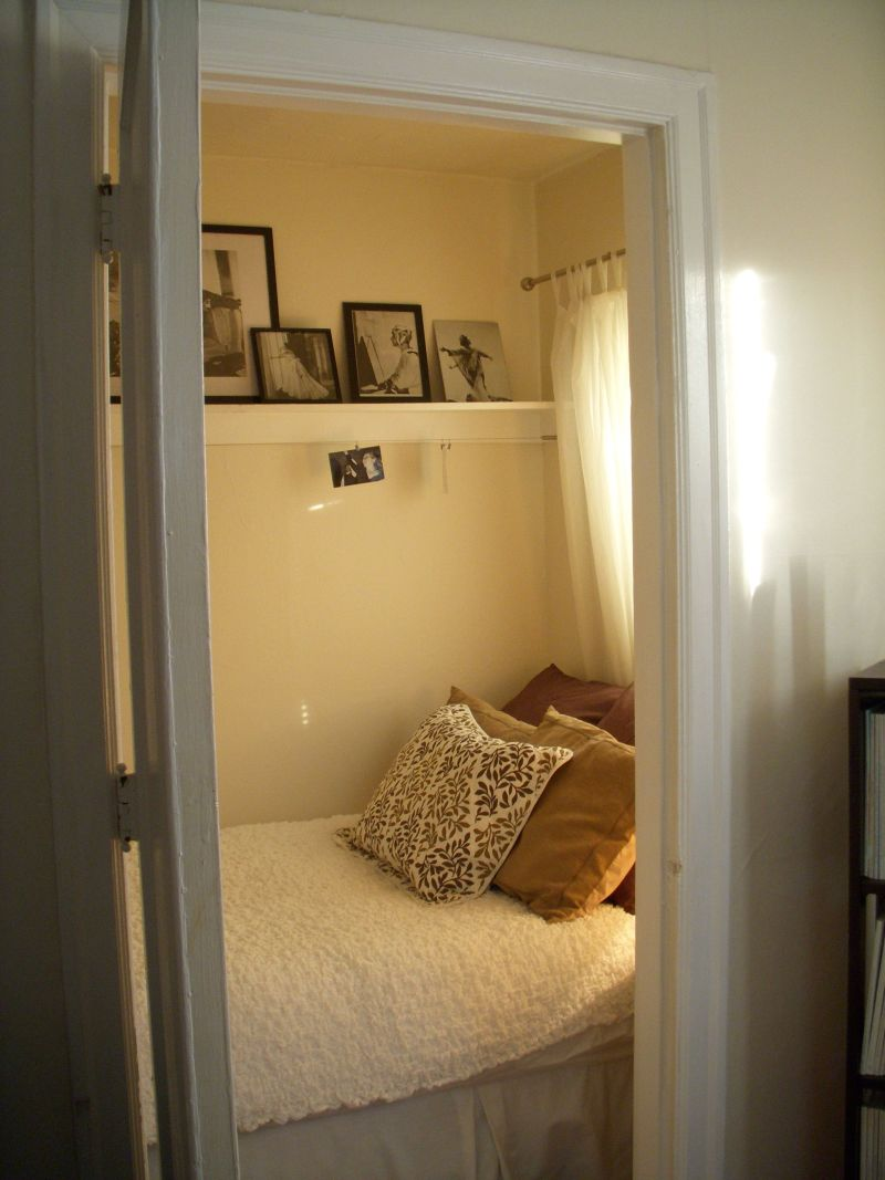 Ellen's Walk-In Closet Bedroom — My Bedroom Retreat Contest