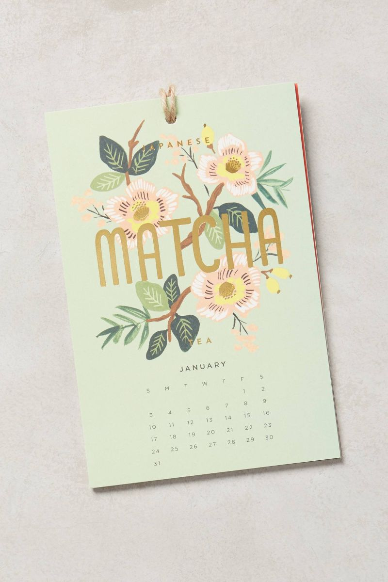 Ring In 2016 With One Of These Sweet Calendars For The Kitchen Kitchn