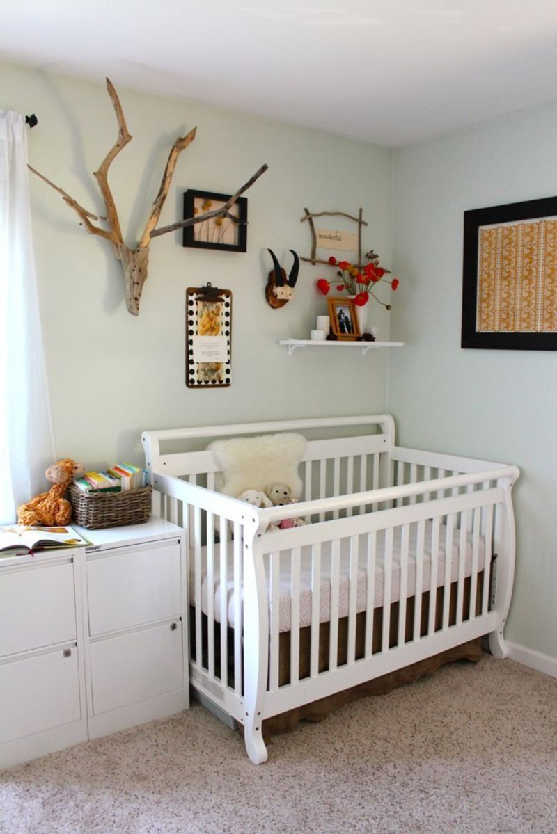 Raising A Baby In One Bedroom Apartment: Make It Work: 8 Combination Nursery & Office Shared Spaces