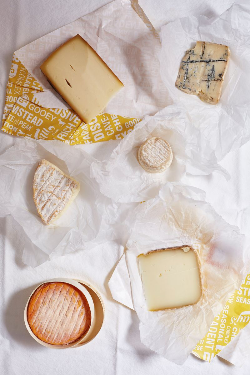 Unwrapped Cheeses