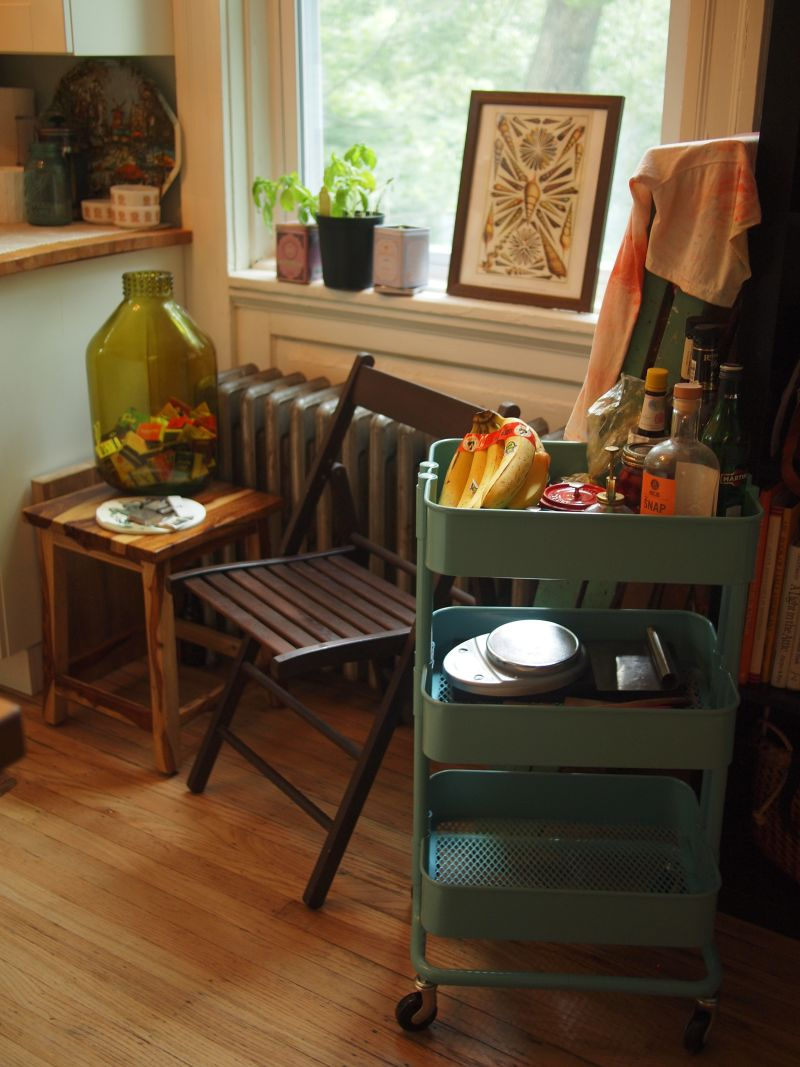Meg's Eclectic Mix of Old and New — Small Cool Kitchens 2013