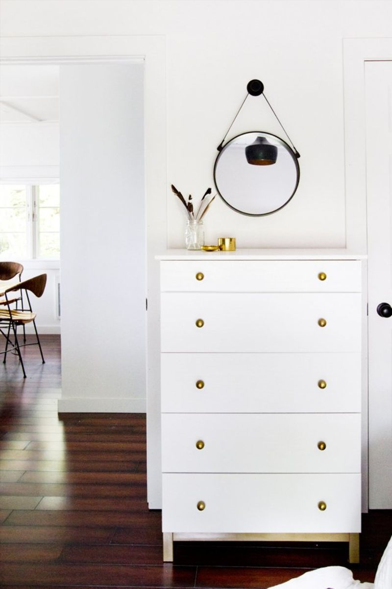 Ikea Dresser Upgrades Diy Tarva Hacks Apartment Therapy