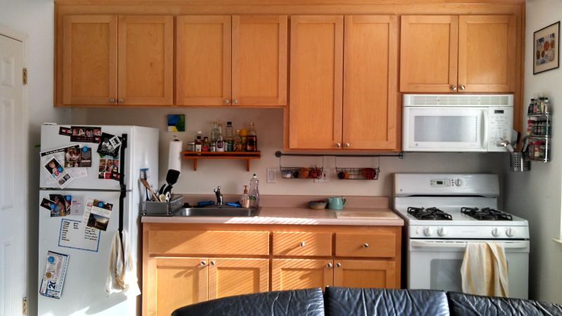 Rebecca's 'Removable Solutions' Kitchen — Small Cool Kitchens 2013
