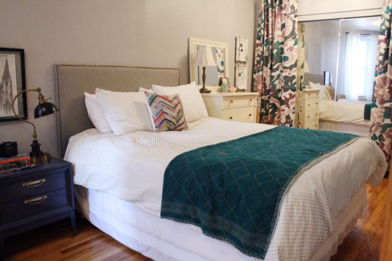 Lauren's Dramatic Curtains Bedroom — My Bedroom Retreat Contest