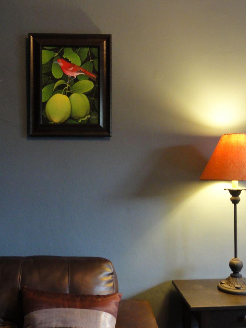 """Kara's """"Smokey """" Room — Room for Color Contest"""