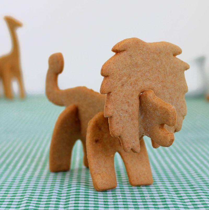 3D lion cookie cutter