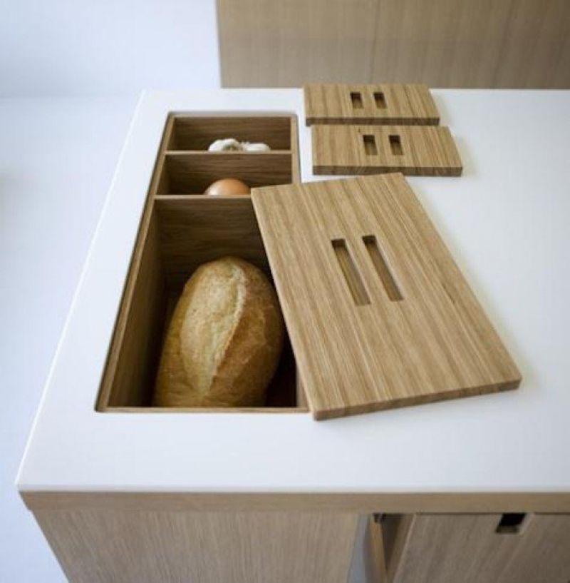 Countertop bread box