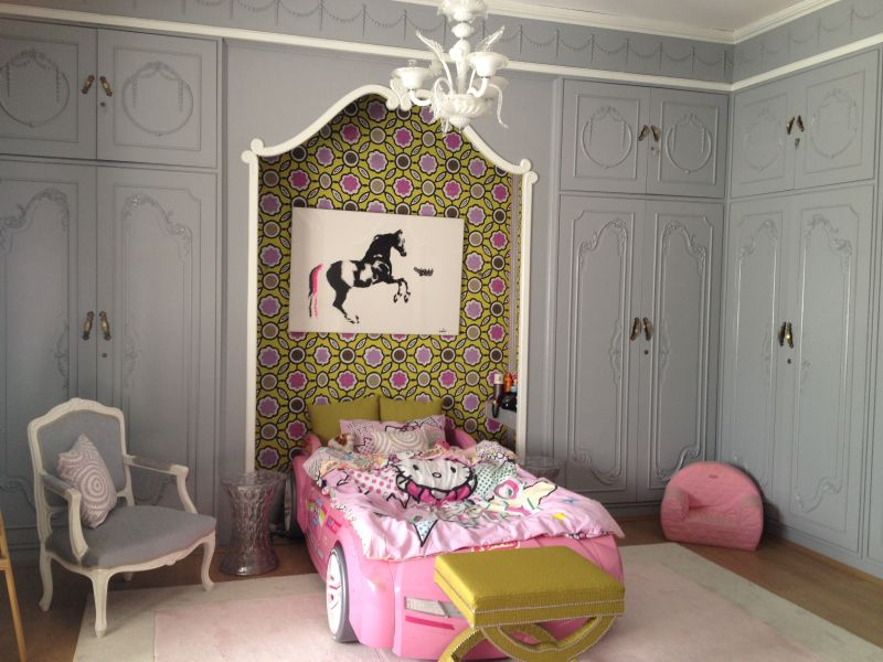 "Alya's ""Grey, Lime & Pink"" Room — Room for Color Contest"
