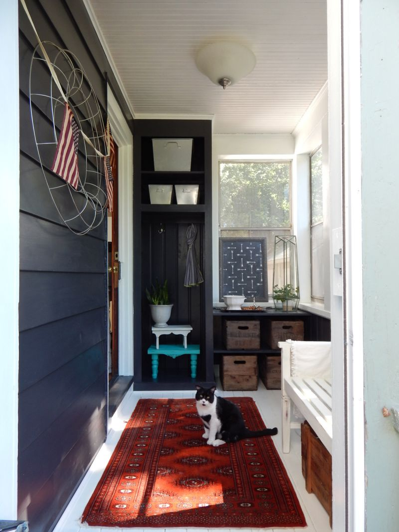 Angela's Mix of Modern & Rustic — Energize Your Entryway Contest