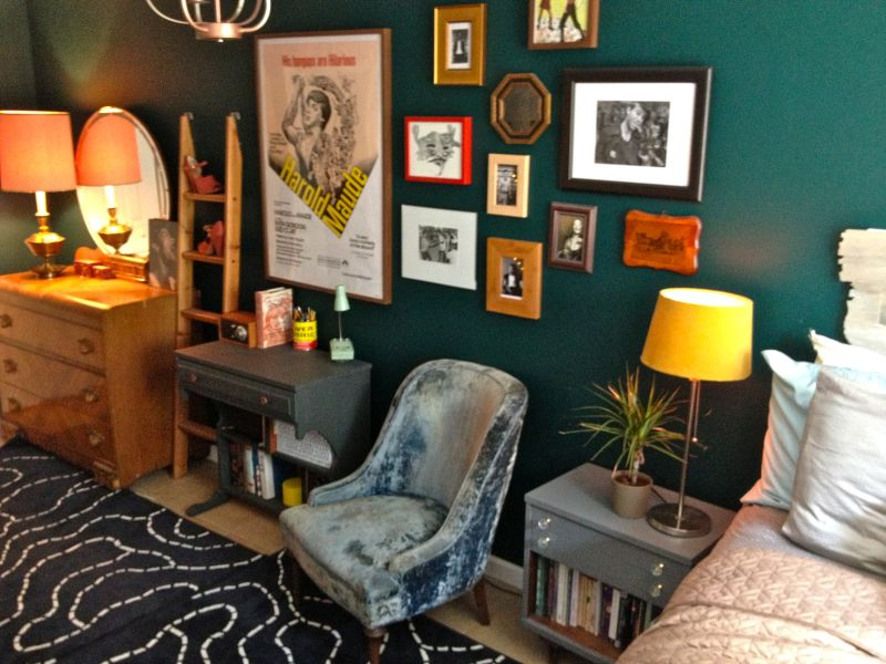 """Michele's """"Magic Greens"""" Room — Room for Color Contest"""