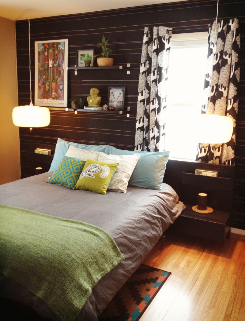 Rob's Eclectic & Vibrant Bedroom — My Bedroom Retreat Contest