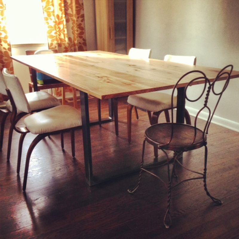 7 Reclaimed U0026 Handmade Wood Dining Table Makers You Should Know About |  Kitchn