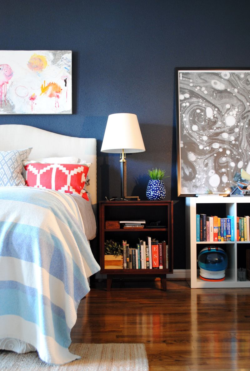 20 Bold Amp Beautiful Blue Wall Paint Colors Apartment Therapy