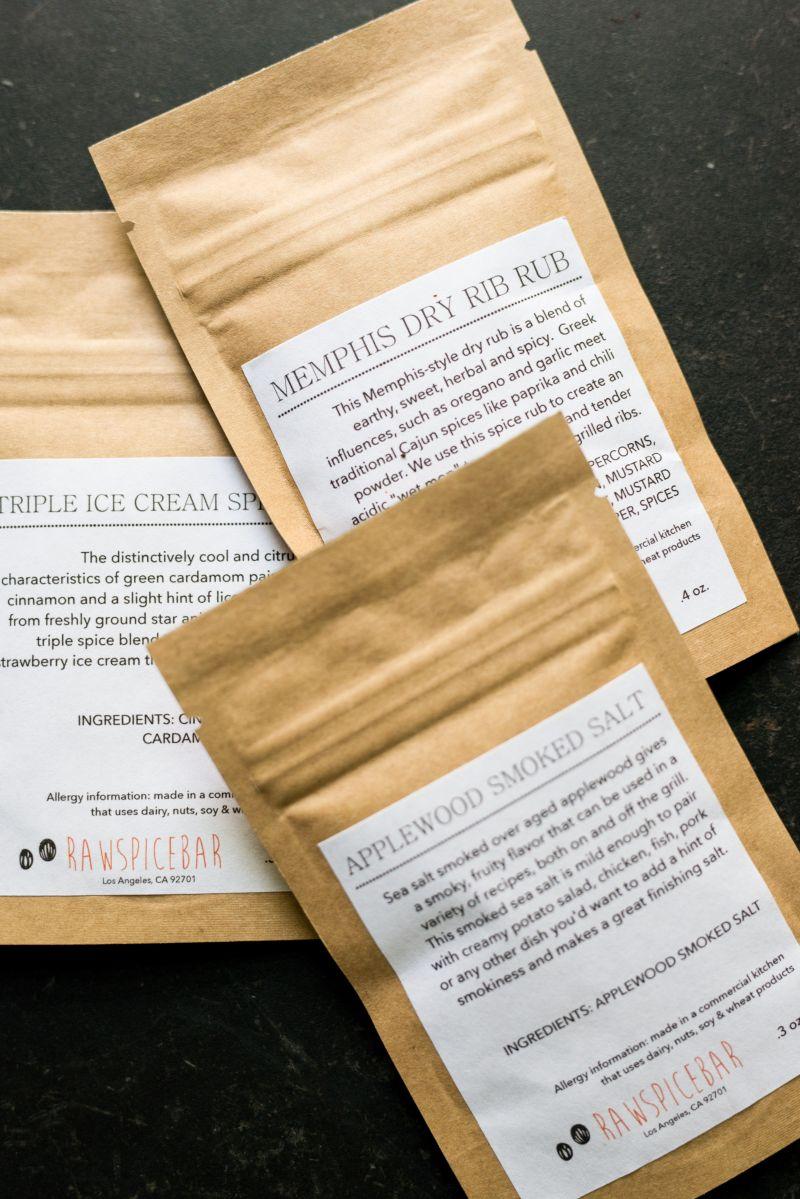 RawSpiceBar 3 spice packets