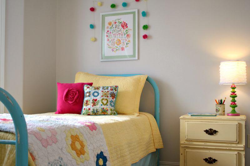 Brooke's Bright & Happy Room — My Bedroom Retreat Contest