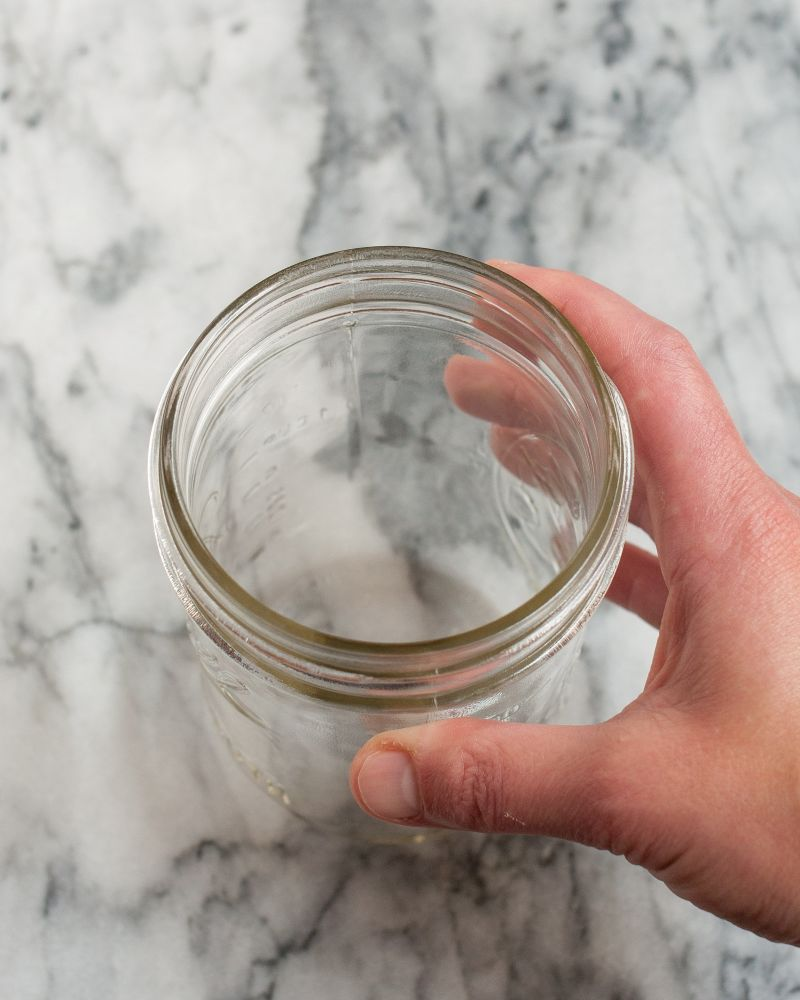 Build a Noodle Cup: Use a widemouth canning jar