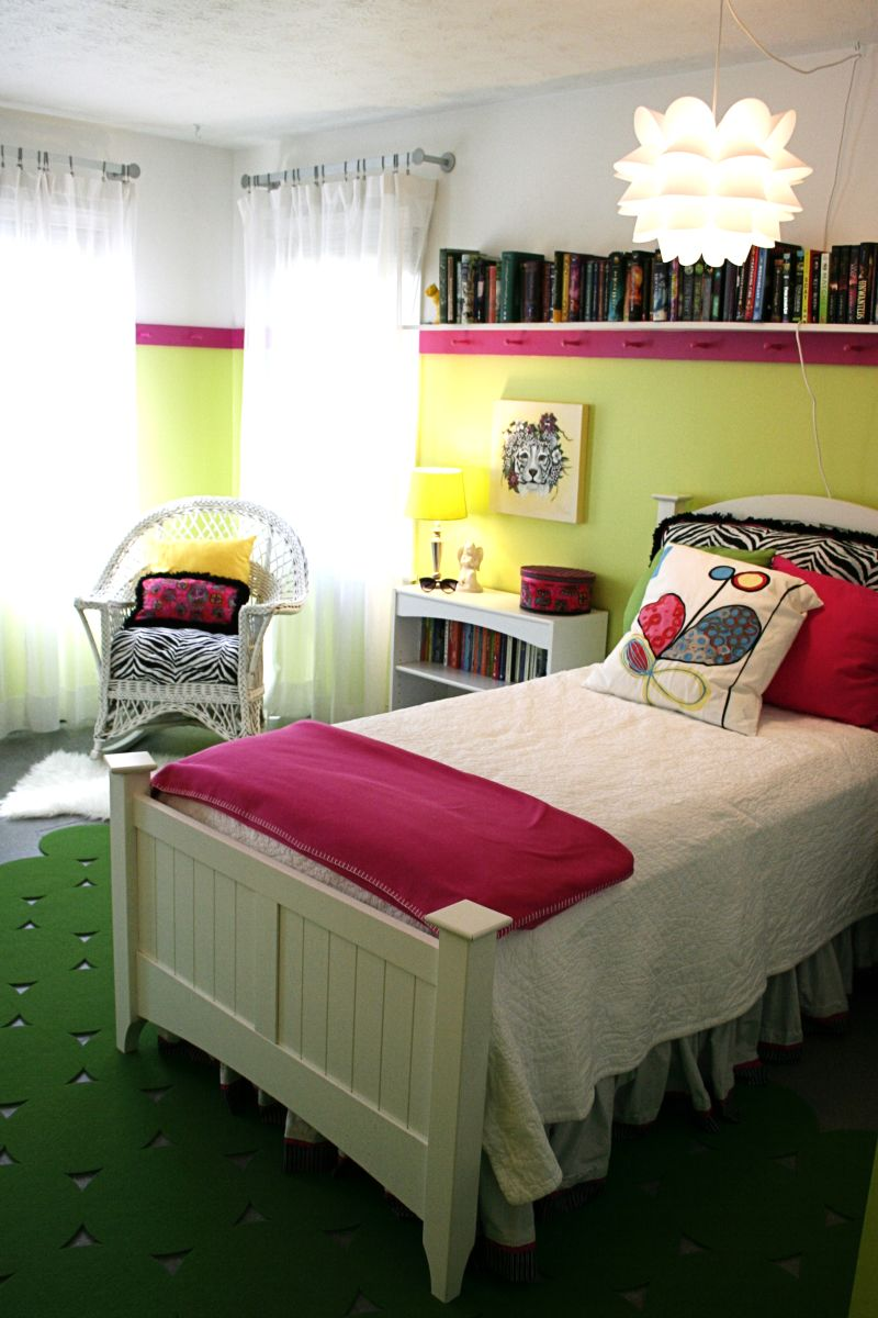 """Emily's """"Citron Pop"""" Room — Room for Color Contest"""
