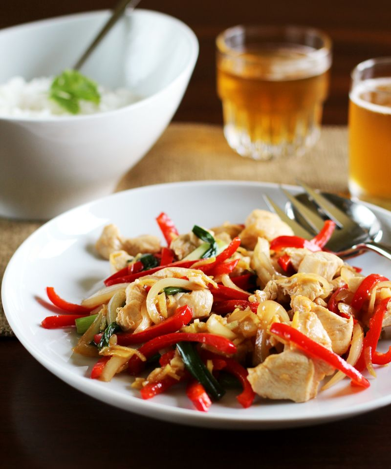 Recipe: Thai Ginger Chicken Stir-Fry