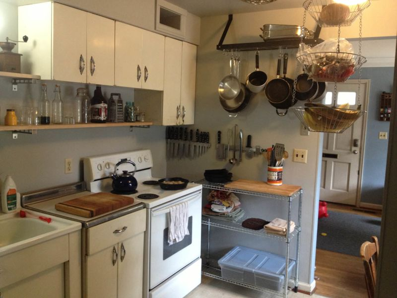 Matthew & Stephanie's Pleasant Balance — Small Cool Kitchens 2013