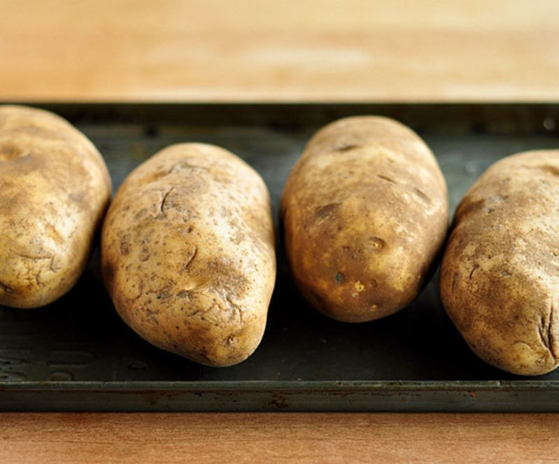 How To Bake A Potato In The Oven Kitchn