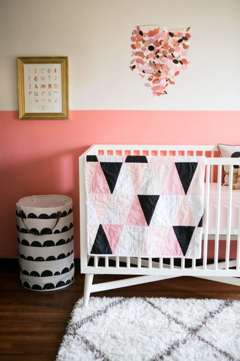 Color Blocking: Two-Tone Walls in Kids\' Rooms | Apartment Therapy