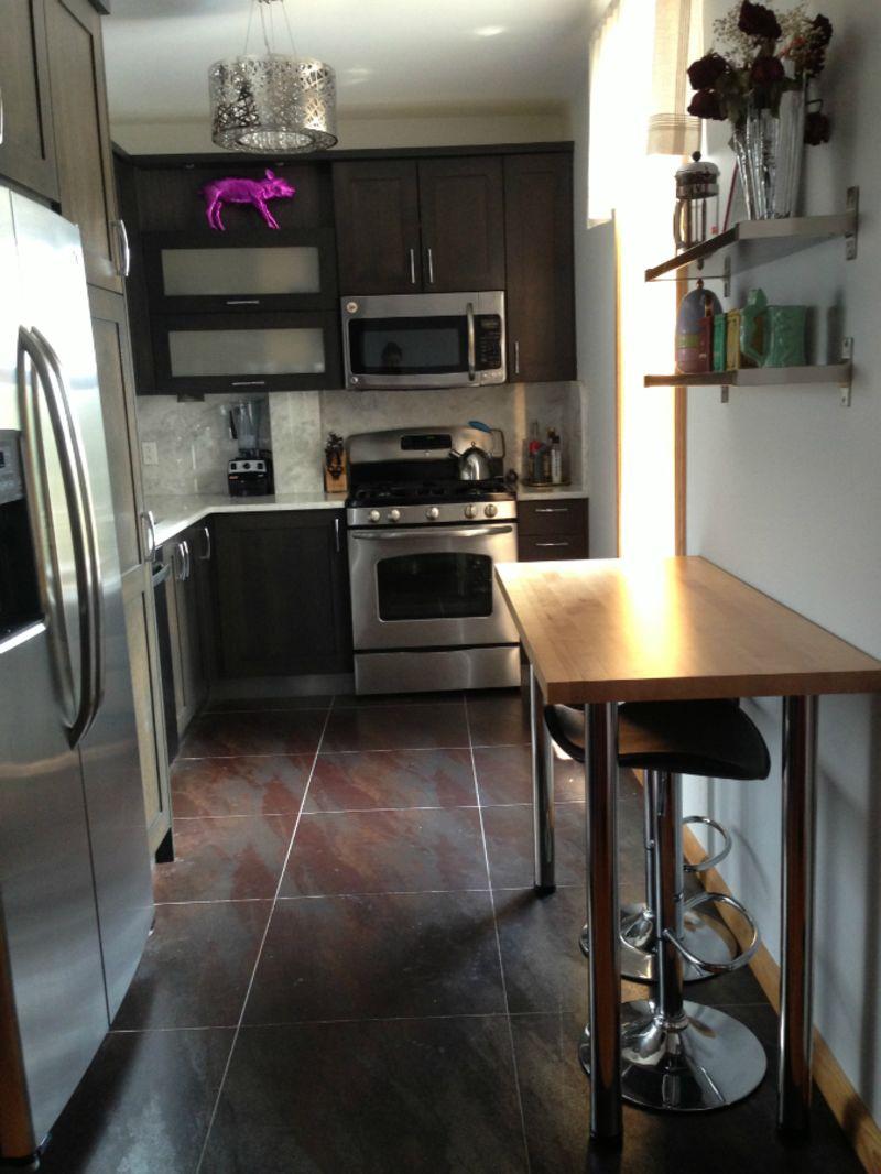 Elizabeth's Modern Glam Mix — Small Cool Kitchens 2013