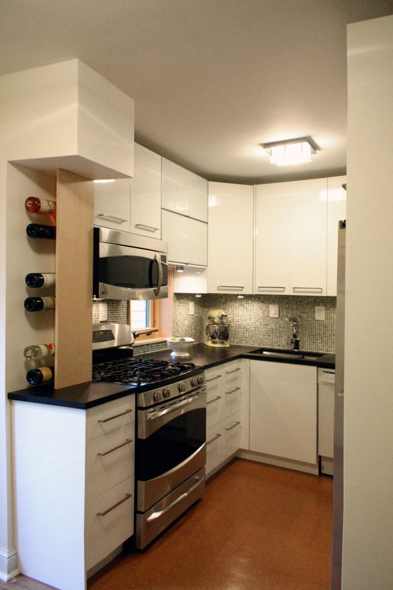 Marcy & Jason's Sustainable Square Kitchen — Small Cool Kitchens 2013