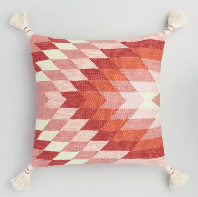 Woven Kalahari Throw Pillow