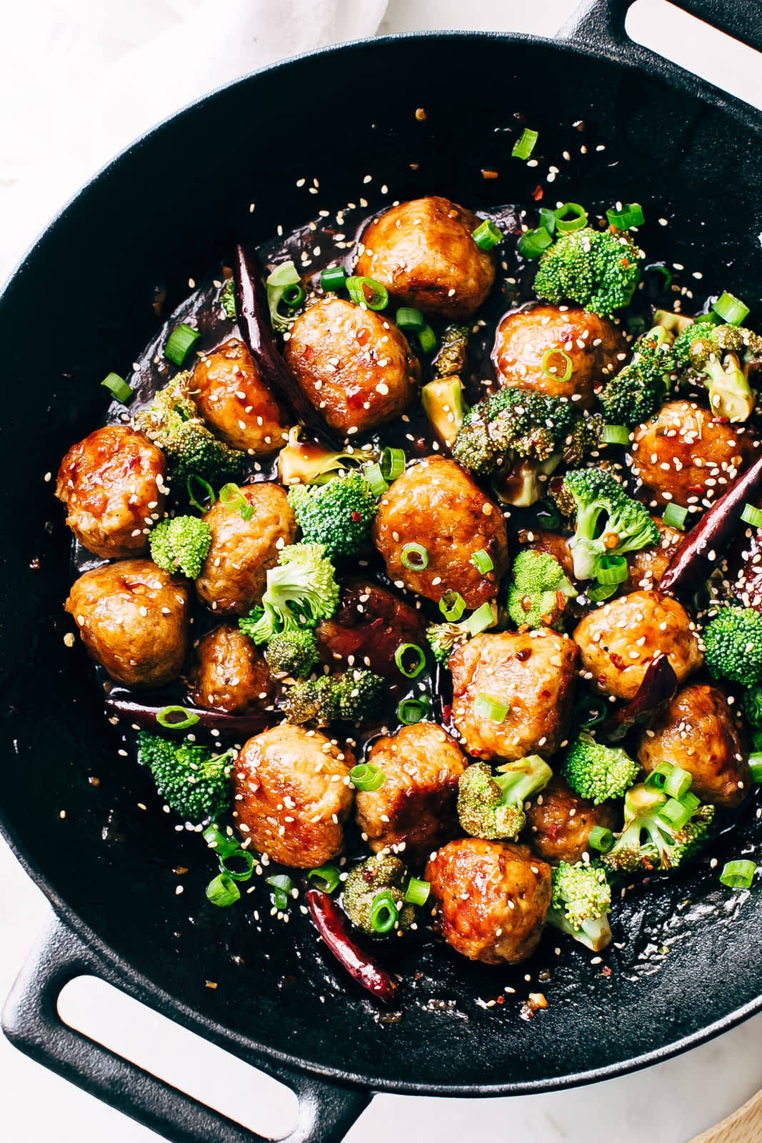 These General Tso's Chicken Meatballs Are Something to Look Forward to