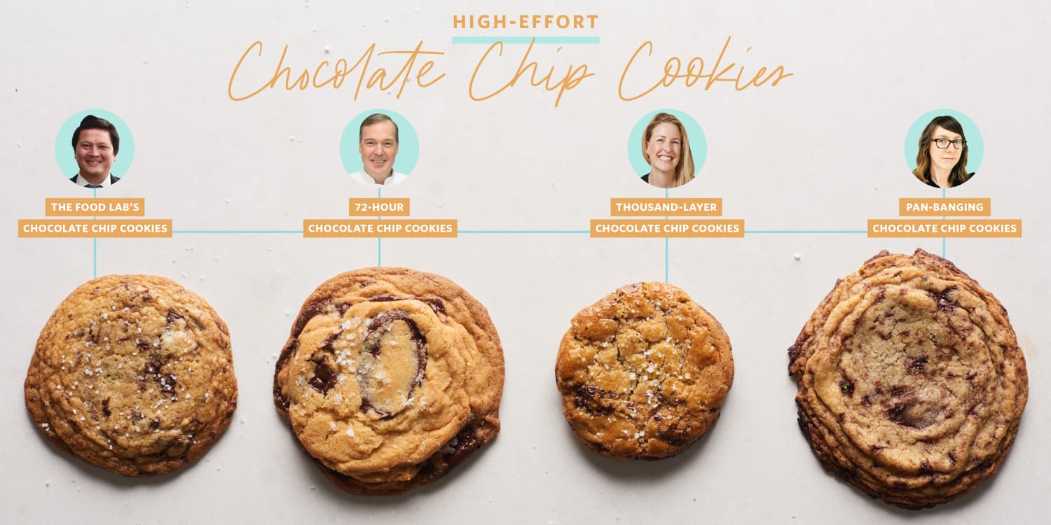 I Went in Search of the Perfect High-Effort Chocolate Chip Cookie