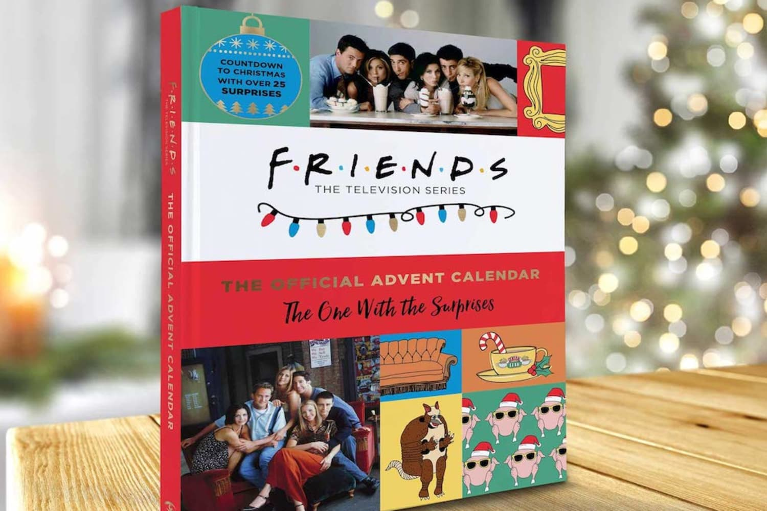 """A """"Friends"""" Advent Calendar is Here, and Even the Holiday Armadillo Would Love It"""