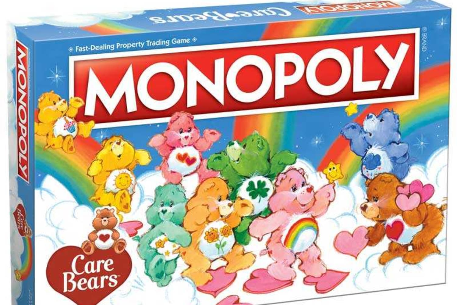 This Limited-Edition Care Bears Monopoly Will Take You Back to Your Childhood