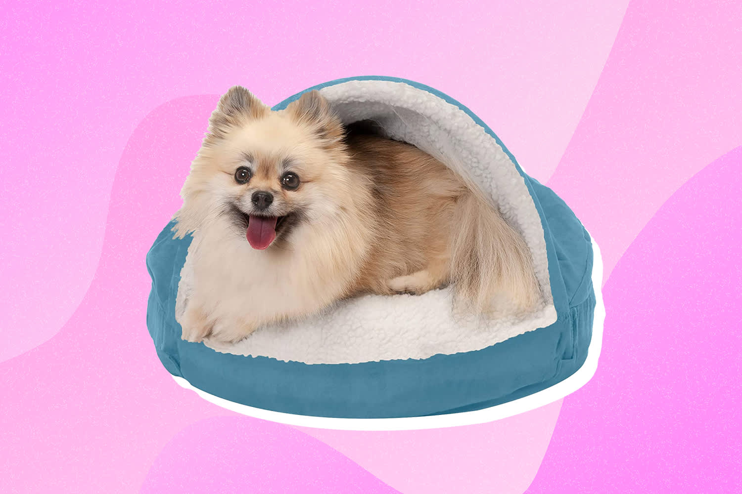 This Dog Bed Has Over 20,000 5-Star Reviews and Is Perfect for Pets Who Love to Snuggle