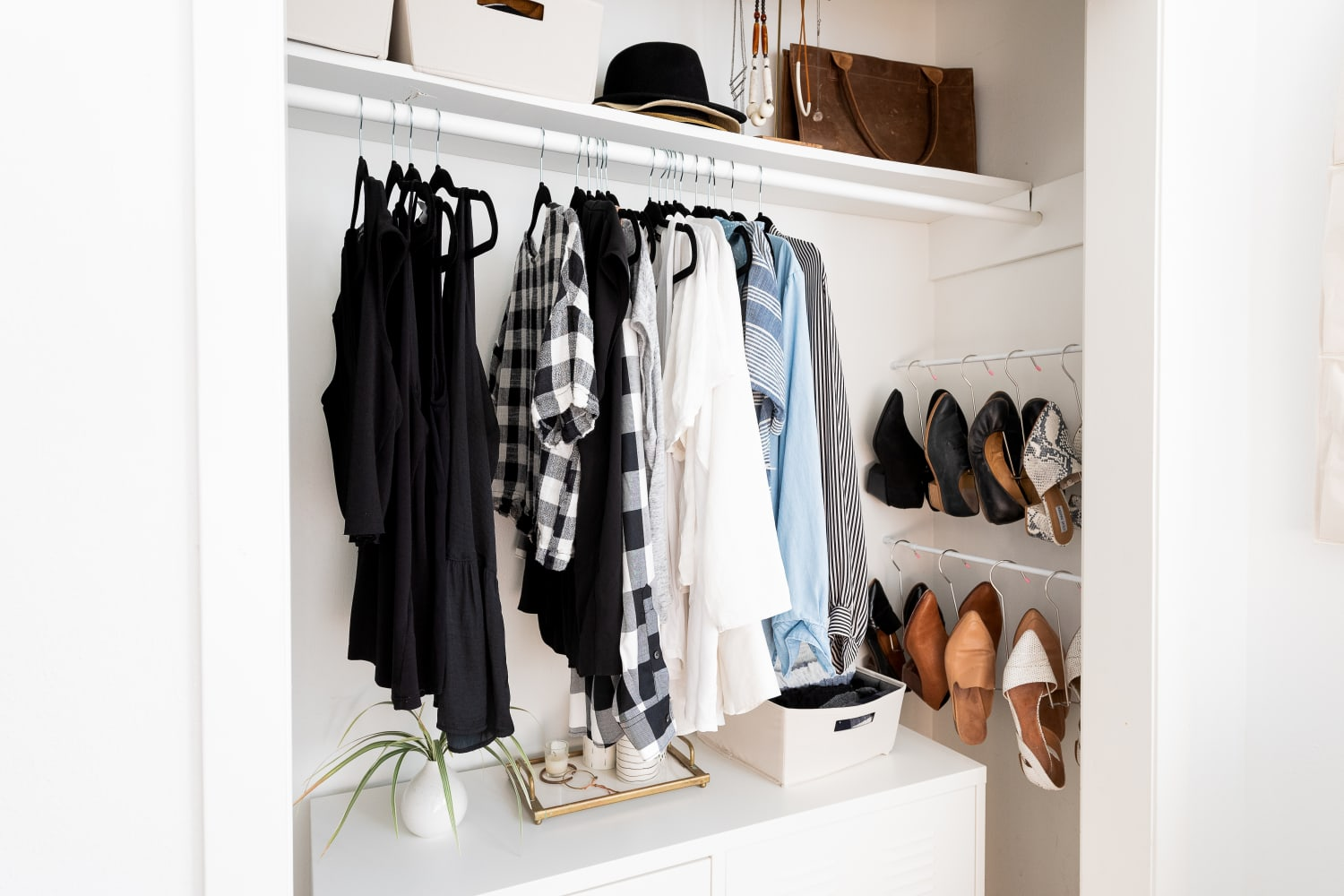 This Genius $31 Shoe Storage Hack Takes Advantage of An Unused Spot in Your Closet