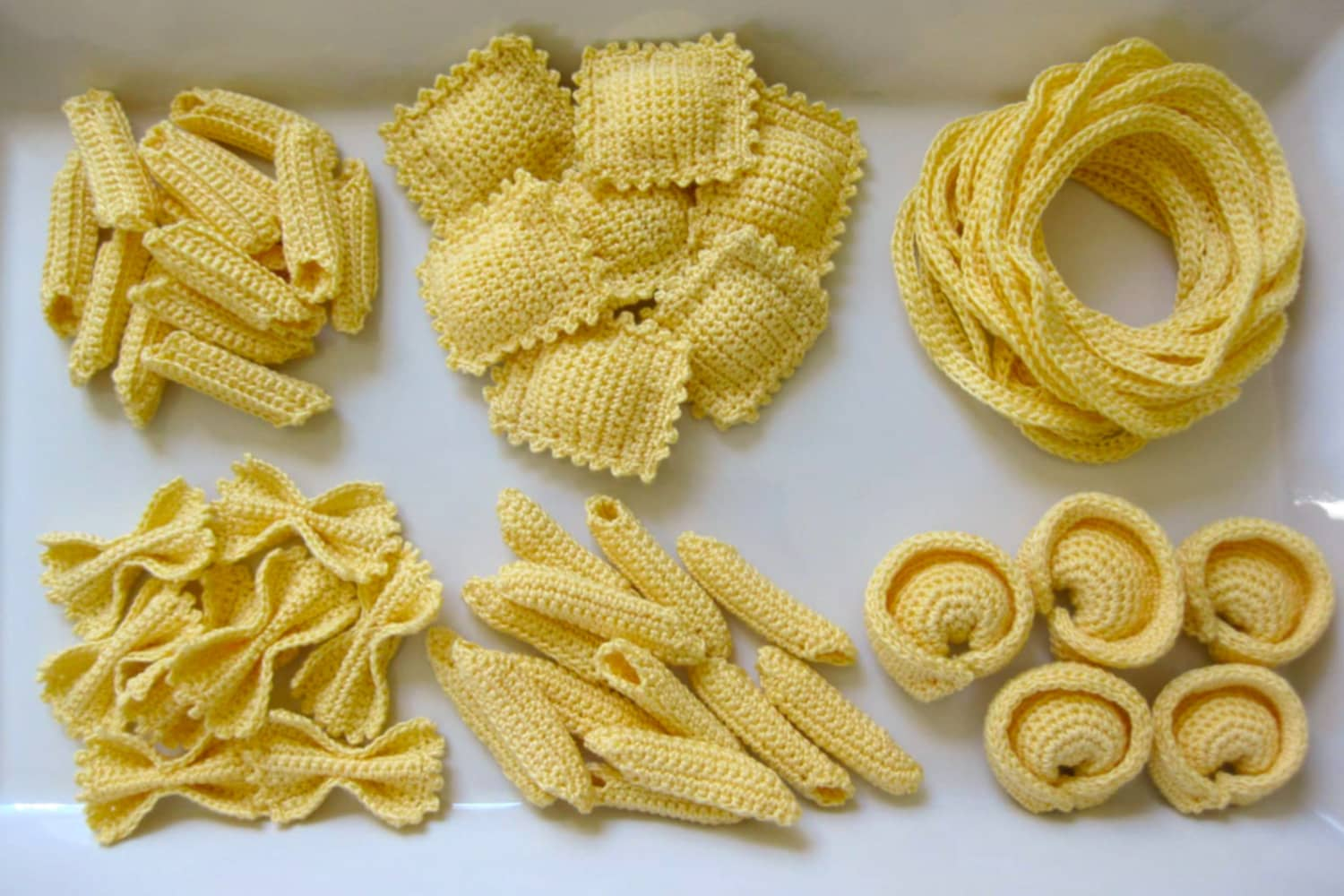 Pasta Lovers Can Now Crochet Their Own Noodles
