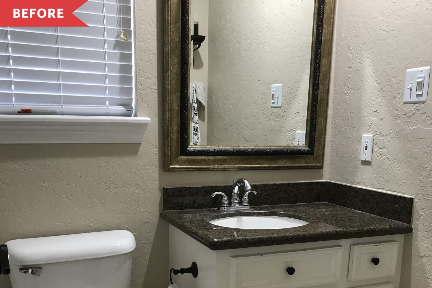 Before and After: A Few Small Changes Bring Lots More Life to This Tiny Bathroom