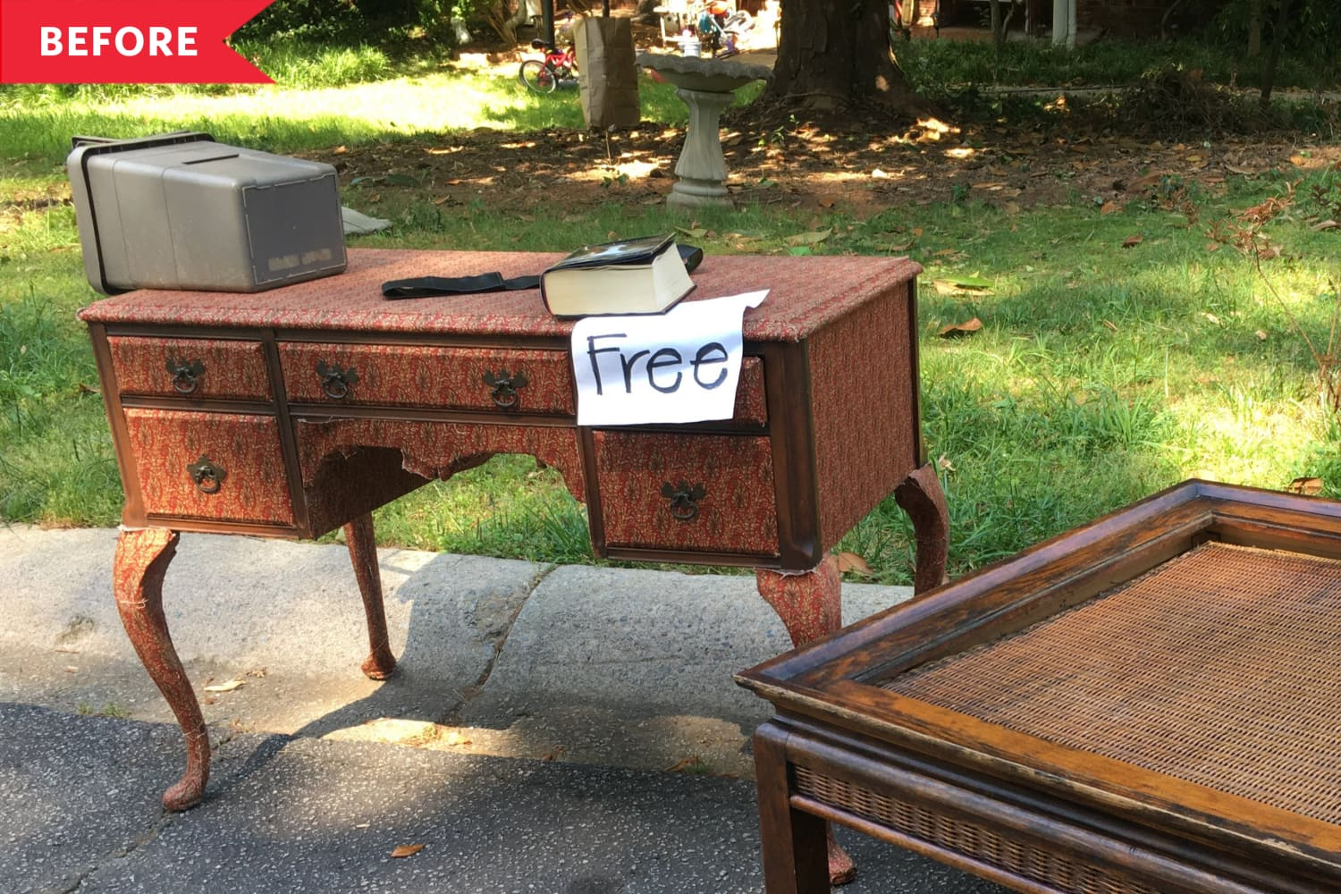 Before and After: A Trashed Vintage Desk Becomes a Restored Treasure