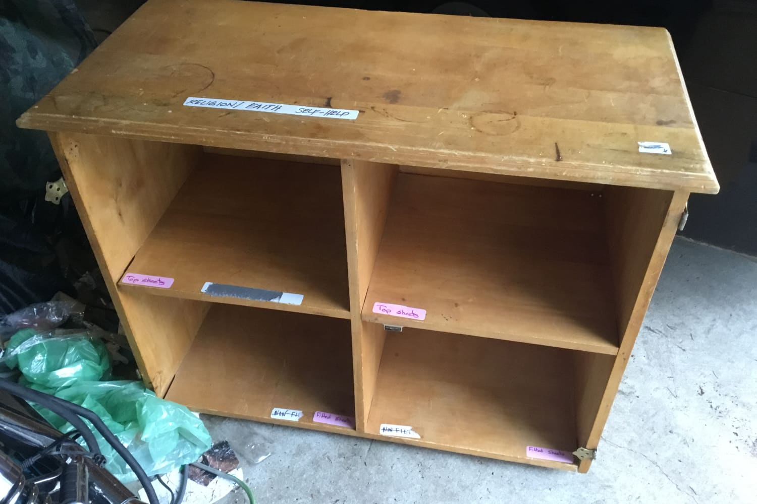 Before and After: A Thrift Store Display Shelf Becomes a Design Piece for $180