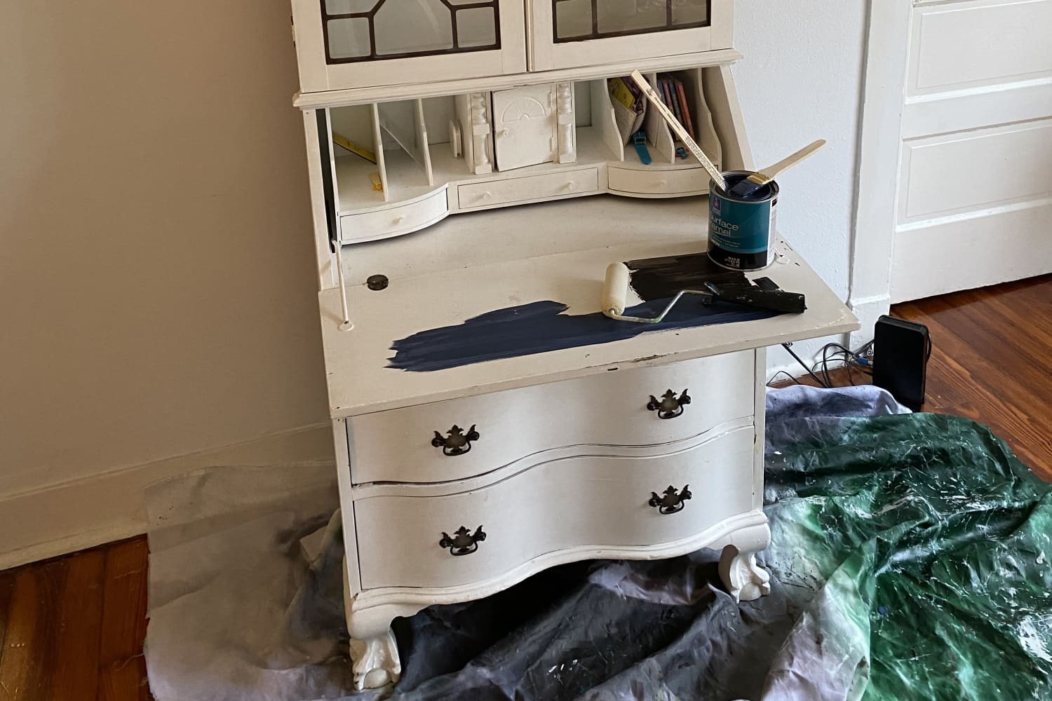 Before and After: A $48 Redo Breathes New Life into a Piece of Childhood Furniture