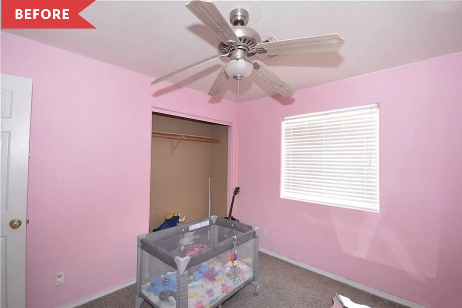 Before and After: A Tiny 100-Square-Foot Bedroom Gets a Big Style Transformation