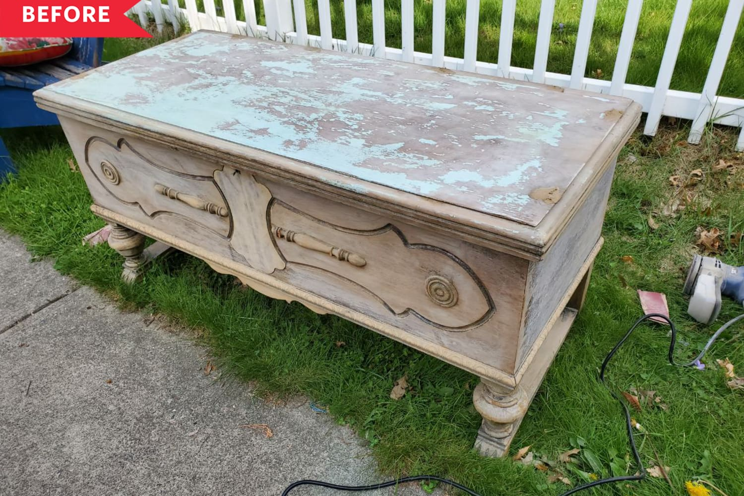 Before and After: A Family Heirloom Cedar Chest Gets a Fresh New Life