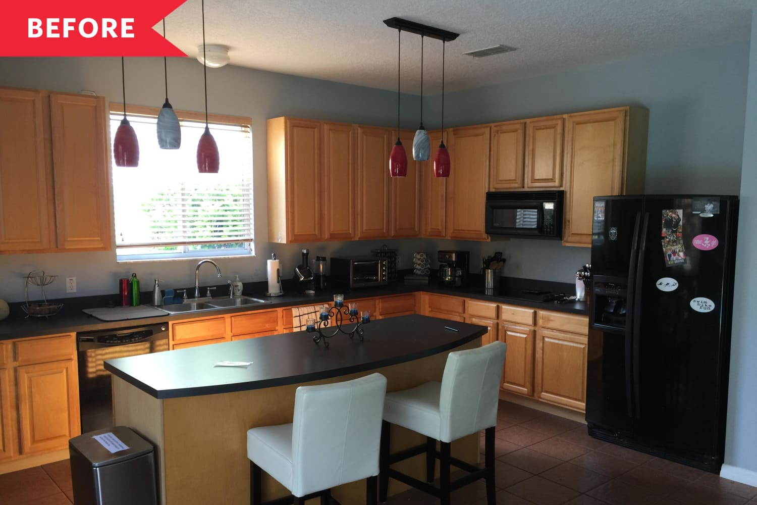 Before and After: A Sleek $25,000 Revamp Takes This Kitchen Out of the 2000s