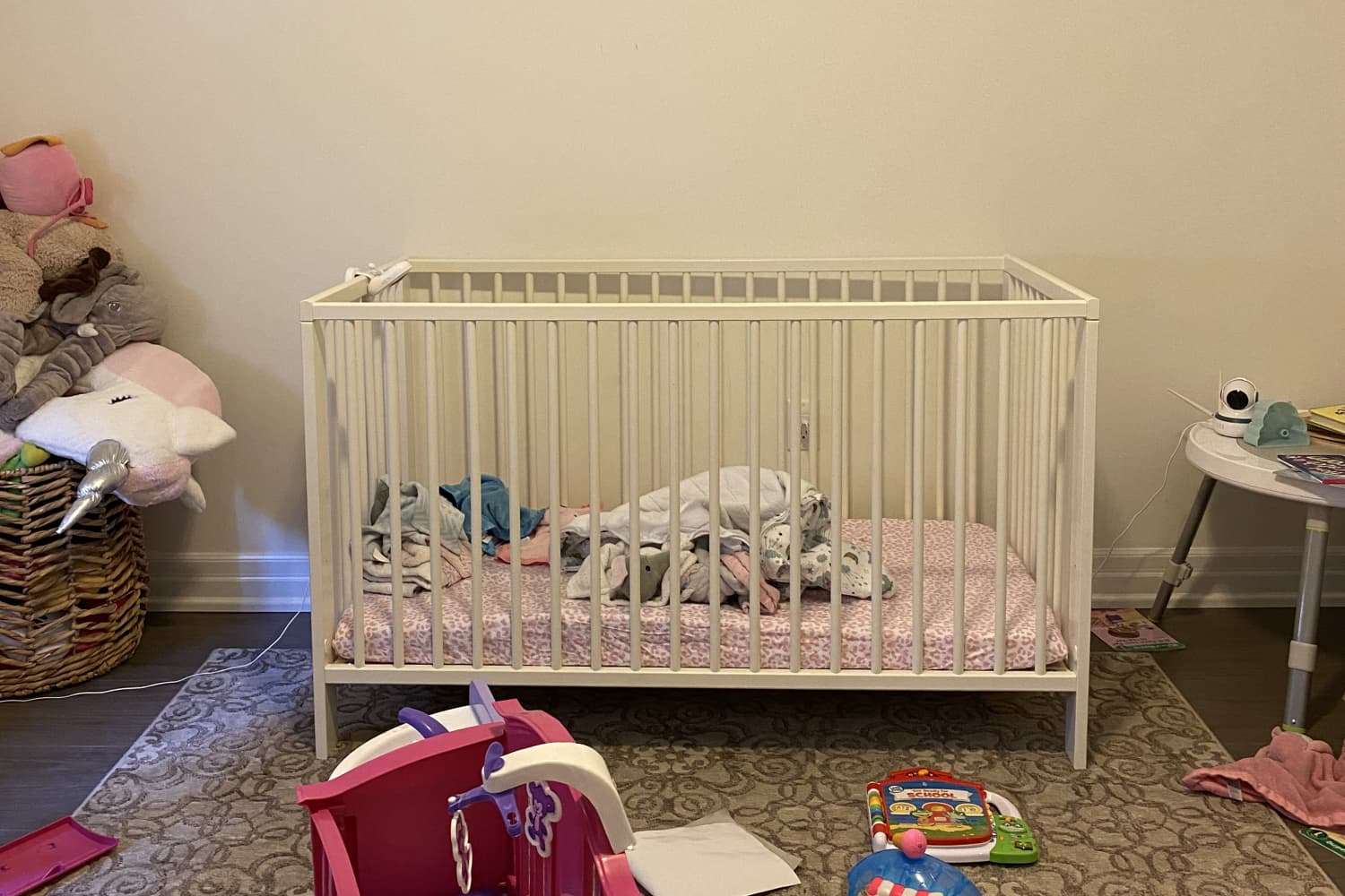 Before and After: 2 Rainbow Paint Projects Totaling $170 Brighten This Once-Boring Nursery