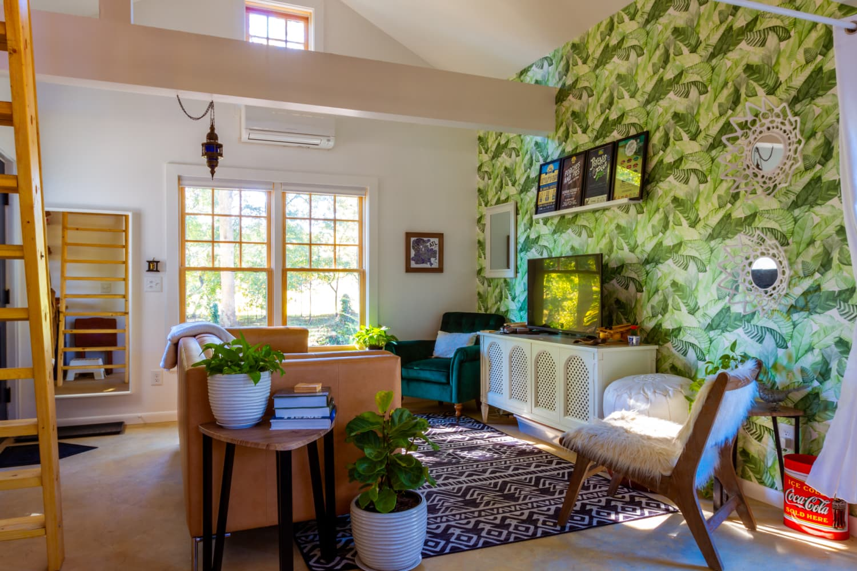 Tiny House Garage Tour Photos Apartment Therapy