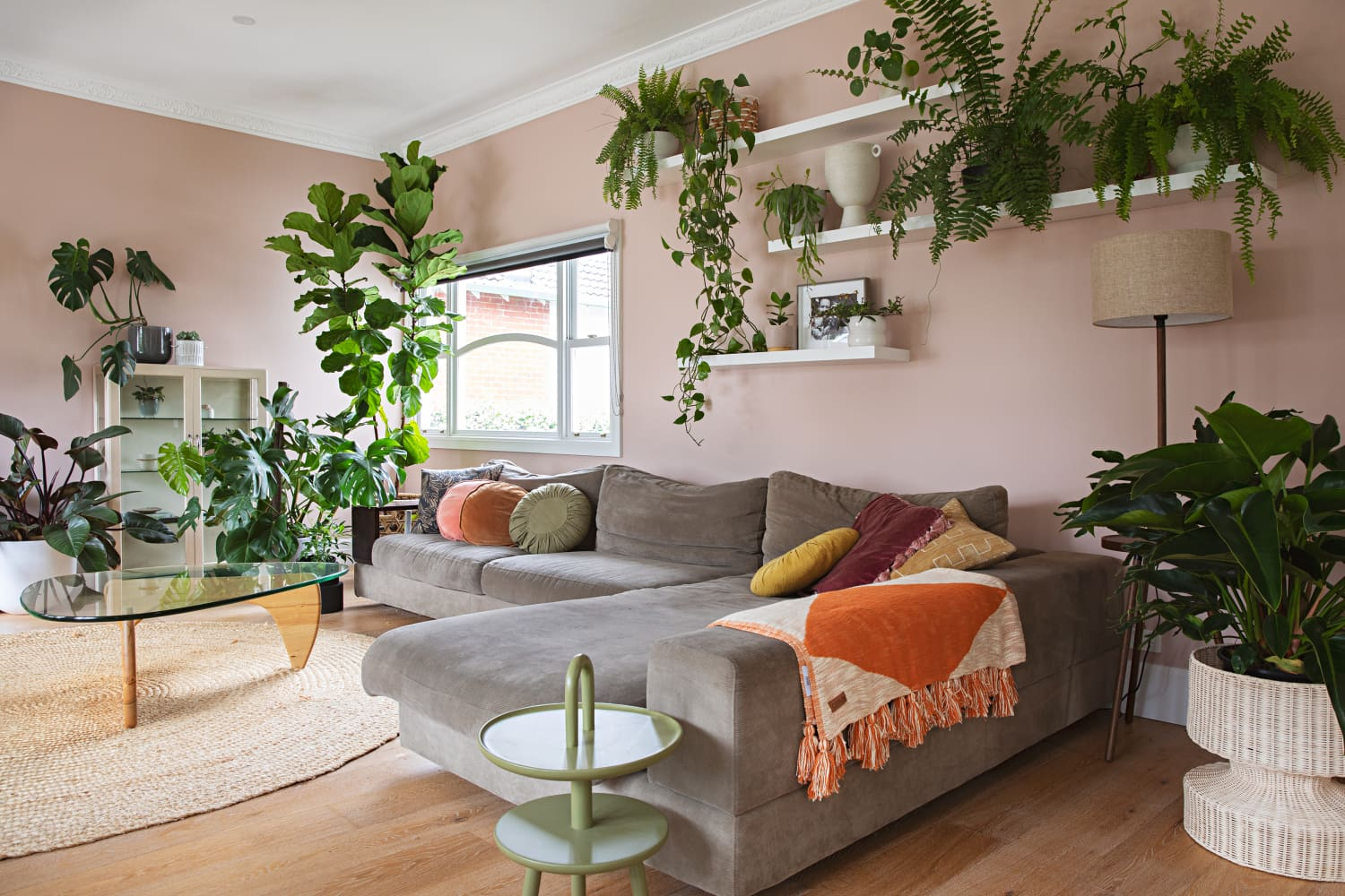 This Gorgeous, Plant-Filled Australia Home Also Features One of the Most Unique WFH Setups We've Ever Seen