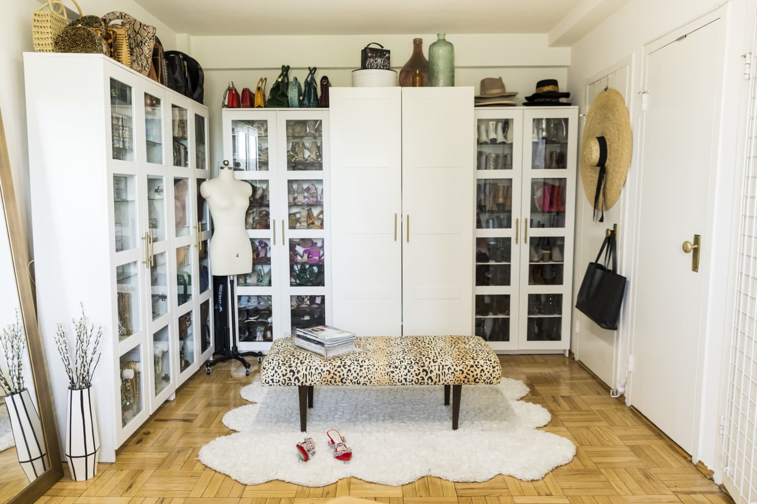 Here's How To Fake A Bespoke Wardrobe on a Budget With IKEA