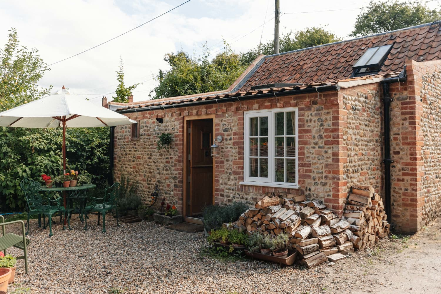 This 500-Square-Foot English Stone Cottage Is Honestly the Cutest Home Ever